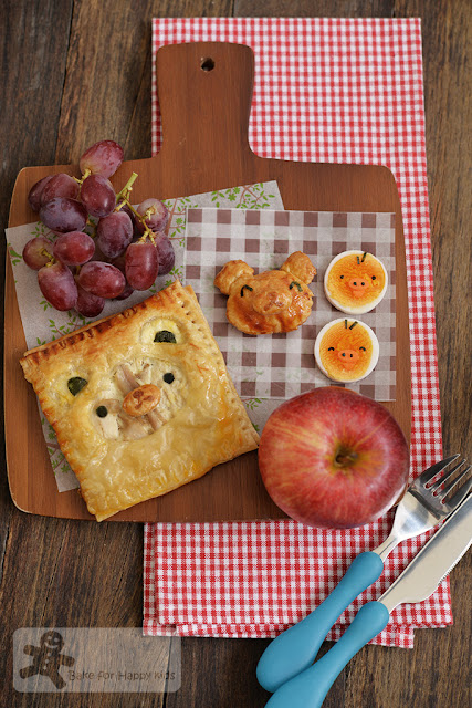 rilakkuma chicken pie