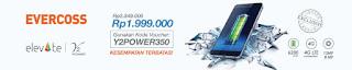 Harga dan Spesifikasi Evercoss Elevate Y2 Power (S55) Harga Promo Rp 1.999.000
