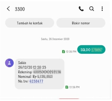Cara Mengecek Saldo BRI lewat SMS Banking