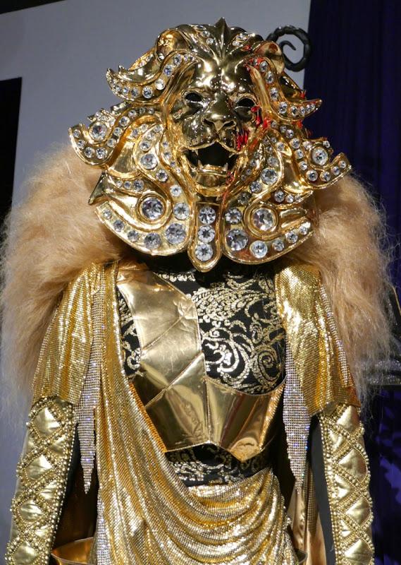 Lion costume detail Masked Singer