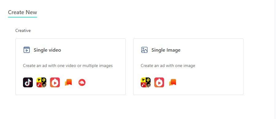 TikTok ads: Create / Upload Ad Creative