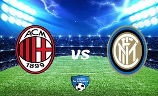 مشاهدة مباراة إنتر ميلان واس ميلان بث مباشر اليوم 26-1-2021 في كأس إيطاليا.