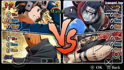 (Nouveau) Naruto Ultimate Ninja Heroes 3 MOD Ultimate Ninja 5 PPSSPP Android    Téléchargez-le sur izanami.top
