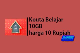 paket Kuota Belajar 10GB Rp10