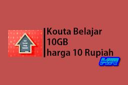 Begini Cara Mendapatkan Kouta Belajar 10GB harga 10 Telkomsel