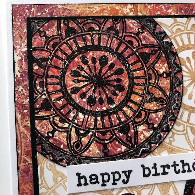 PaperArtsy EGL01 - Stamping on Gel Plate