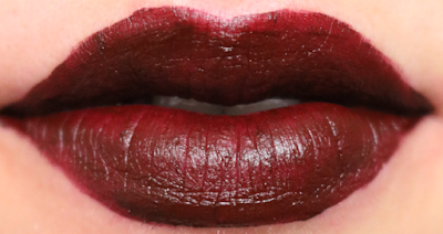 Ciate Liquid Velvet Matte Lipstick in Voodoo review swatches
