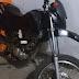 BOPE apreende moto de procedência duvidosa no bairro São Francisco em Cajazeiras na noite desta quinta-feira