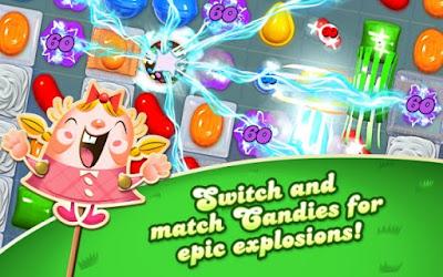Candy Crush Saga Apk v1.83.0.4 Mod (Unlocked/Unlimited Lives)