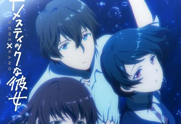 El Esperado Anime de Romance Domestic na Kanojo Llegará en Enero de 2019