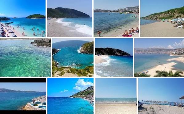 8 ideal Albanian beaches according to the Italian tgcom24