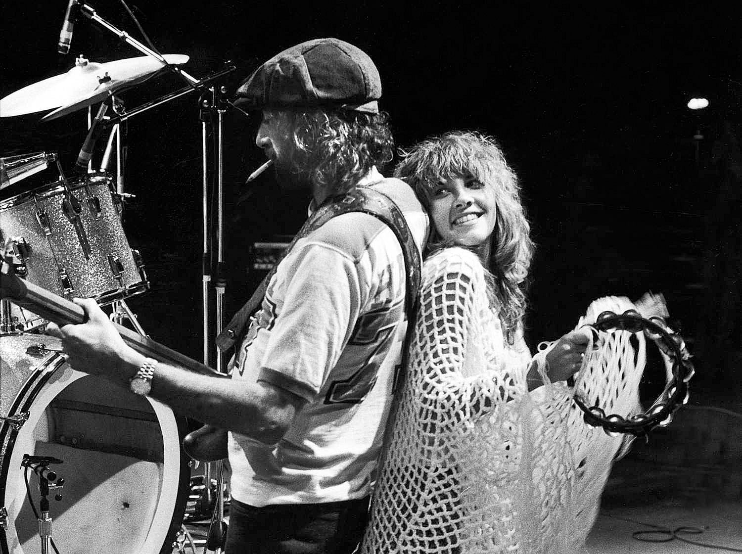 Mick Fleetwood We were cloaked in this crazy world