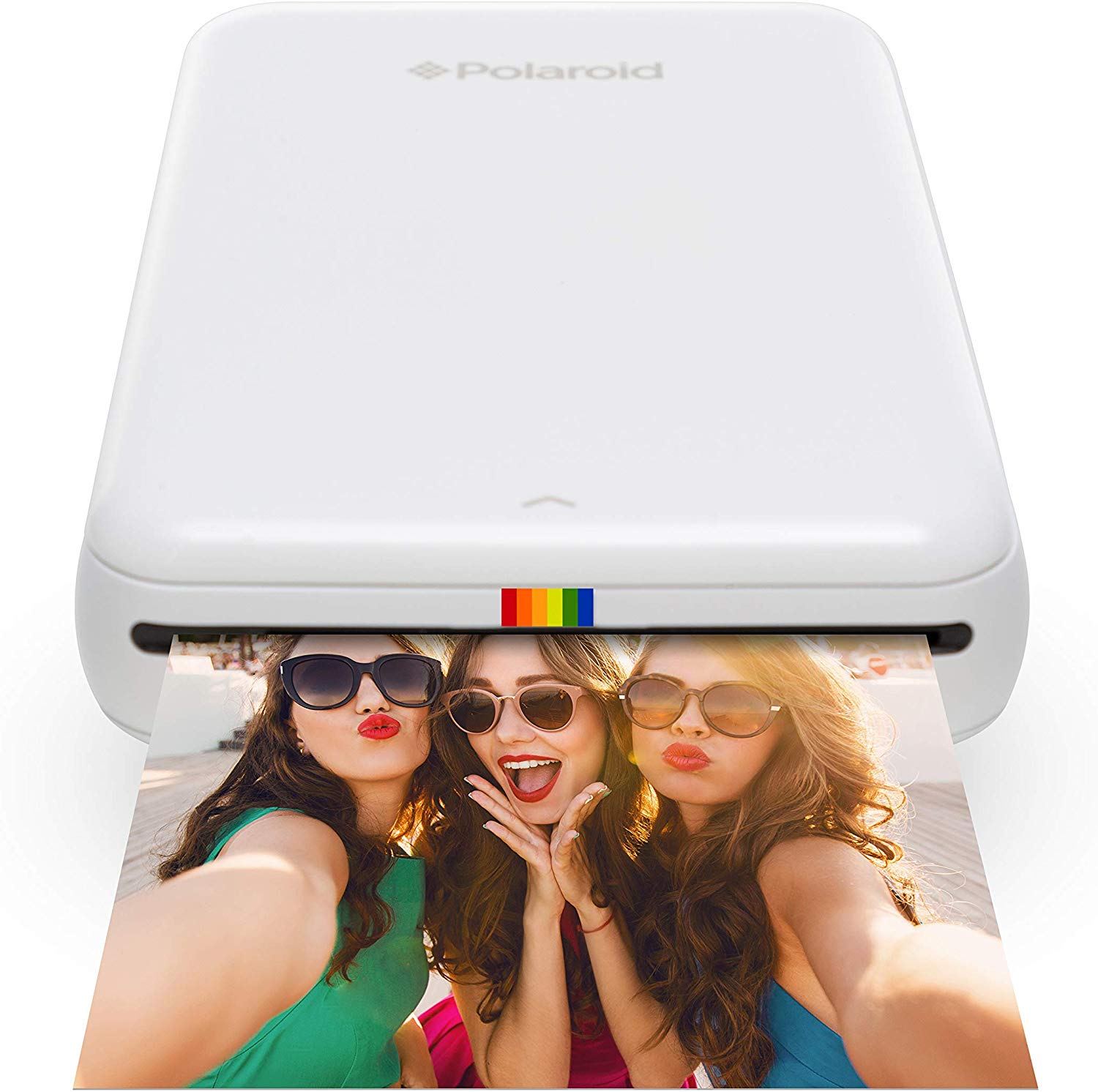 Polaroid ZIP Wireless Mobile Photo Mini Printer, Compatible w/ iOS & Android