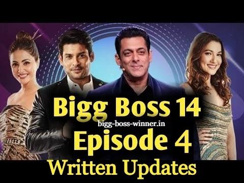 Episode 4 Bigg Boss 14 | Written Update of 6 October Episode