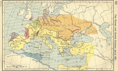 Rome Total War: Barbarian Invasion Huns (Avrupa Hun İmparatorluğu) Faction