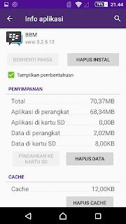 cara mengatasi bbm tidak bisa dibuka di android