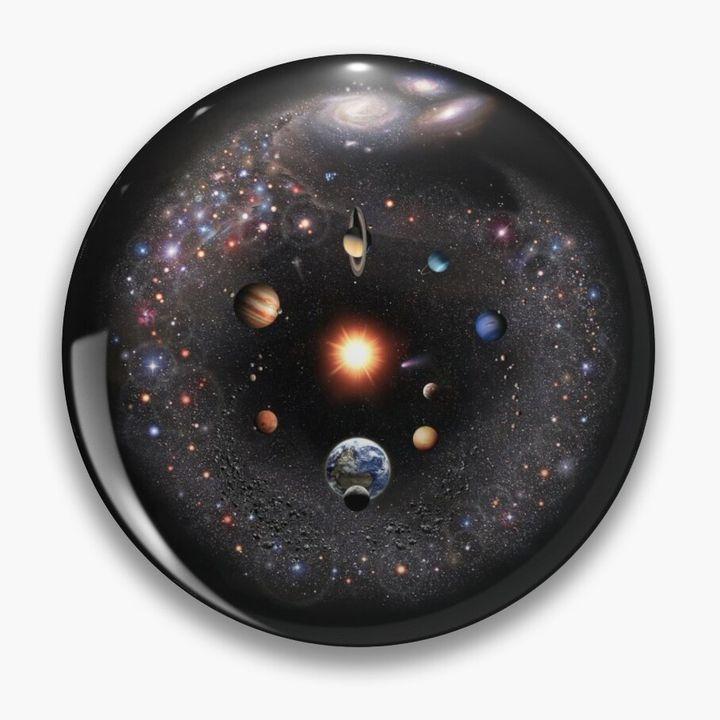 Milky Way Galaxy Pin