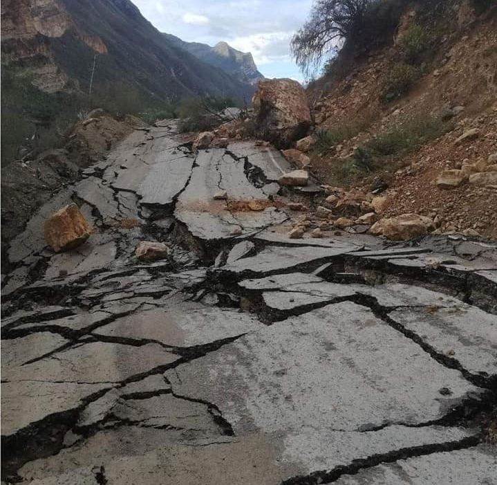 deslizamiento en Culluchaca podría represar el río Puchka