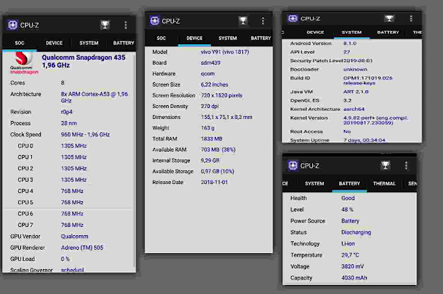 aplikasi dan logo cpu-z