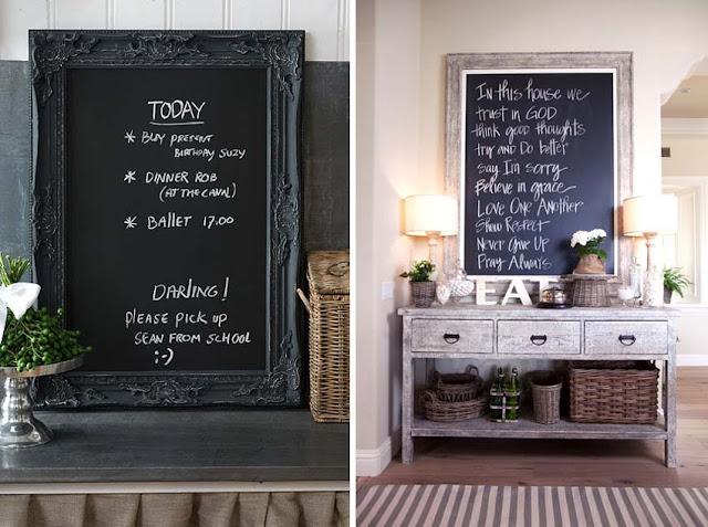 Restauro e restyling - Parete lavagna cucina ...