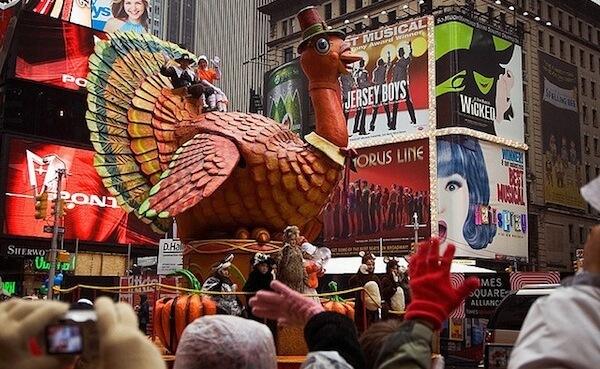 Thanksgiving Day Parade Loving San Francisco