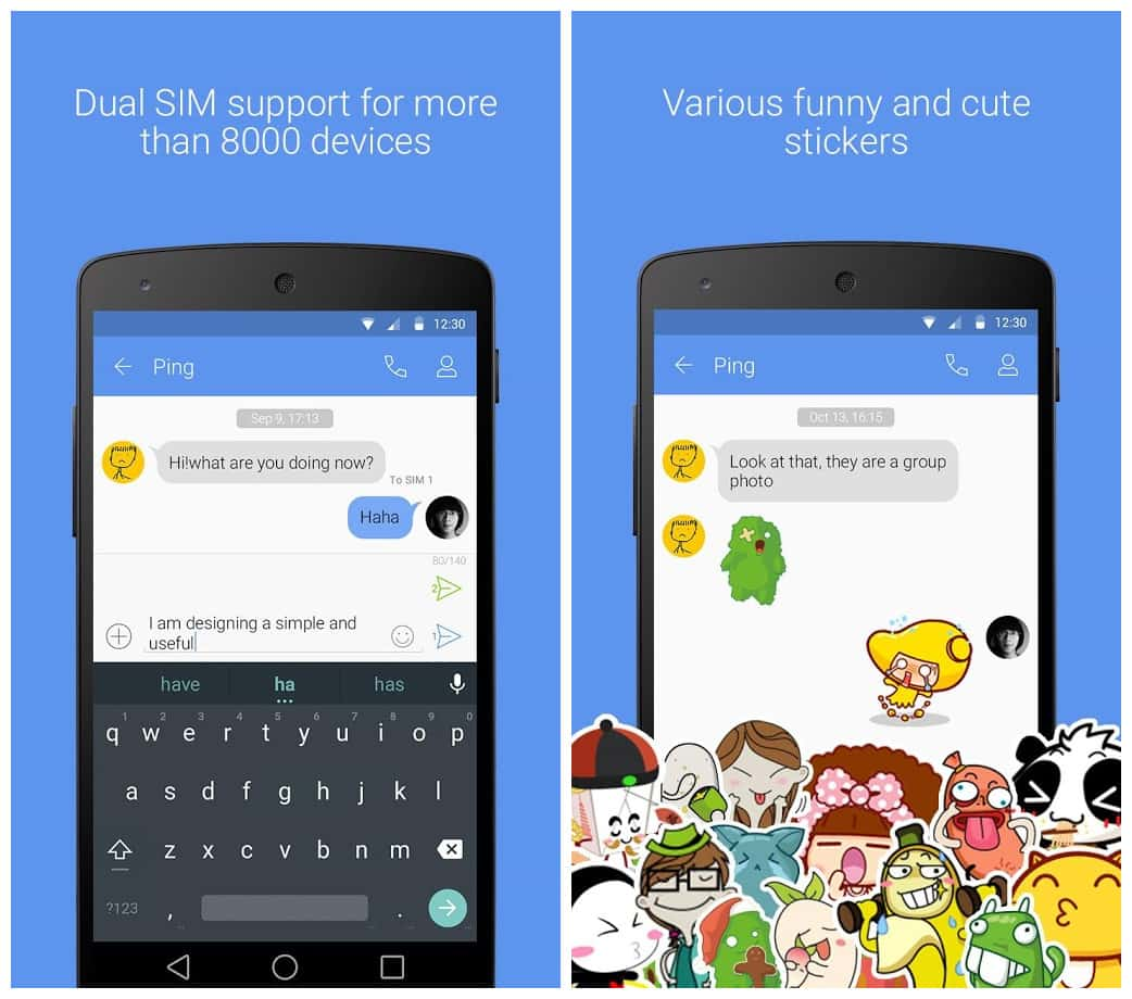 go sms pro apk free download