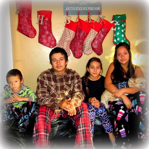 Christmas Was....