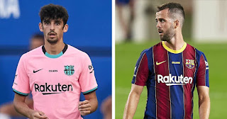 Two Barcelona signings set to miss Getafe clash after International break as both miss Thursday's training