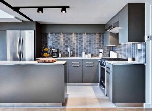 Beautiful minimalist kitchen design with creative inspiration