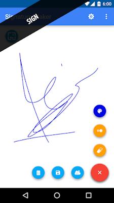 تحميل برنامج Signature Maker