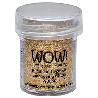 Pearl Gold Sparkle Embossing Glitter