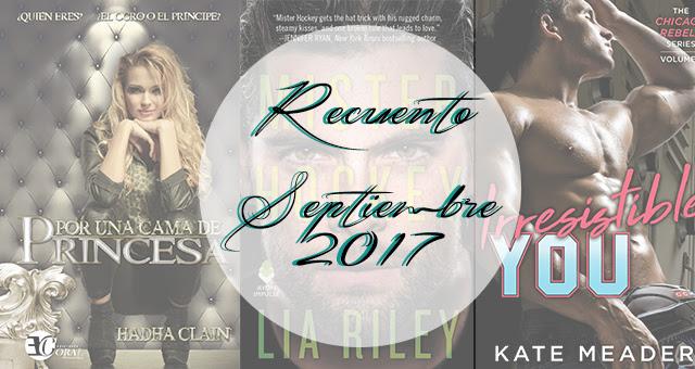 Recuento | Septiembre 2017