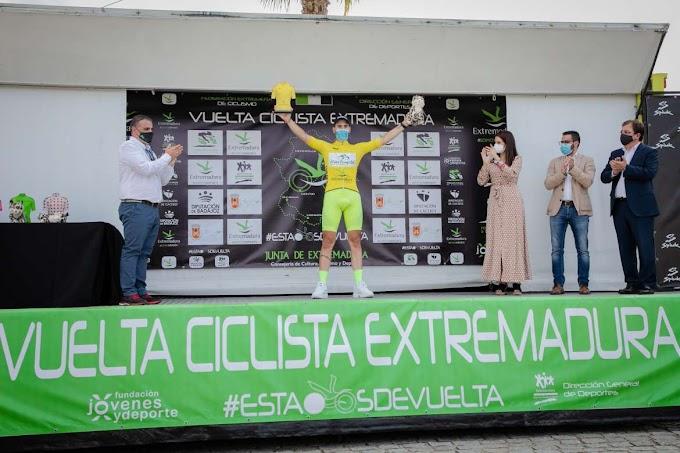 El Vigo - Rías Baixas ganó la primera etapa de la Vuelta Extremadura
