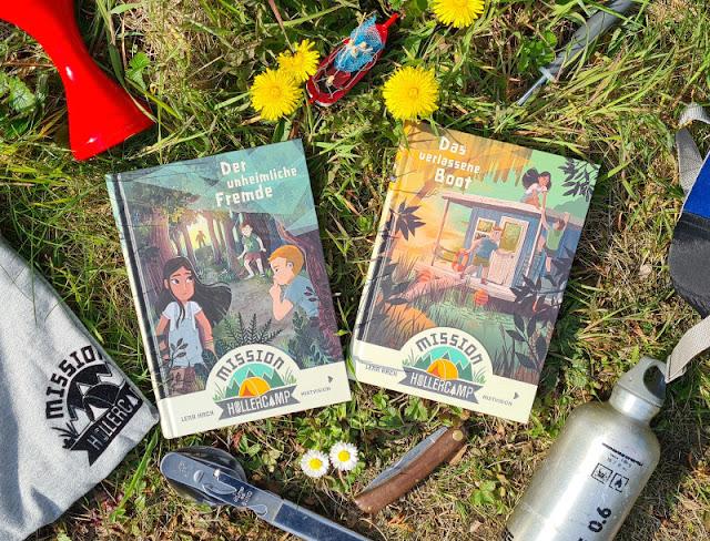"""Unterwegs auf dem Campingplatz: Die """"Mission Hollercamp""""-Kinderbücher von Lena Hach. Sommer, Ferien, Camping, Abenteuer: Ich stelle Euch die tollen Bücher für Kinder  ab 8 Jahren auf Küstenkidsunterwegs vor!"""
