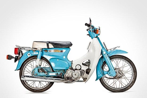 Modifikasi Honda C70 Klasik