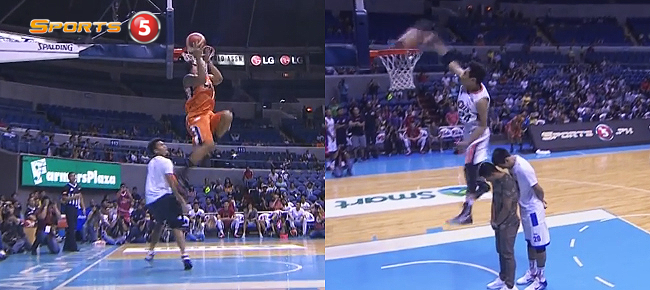 WATCH: Rey Guevarra vs. Chris Newsome at PBA Slam Dunk Contest 2016 (VIDEO)