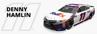 #11 Denny Hamlin - Joe Gibbs Racing Hot Streak #NASCAR