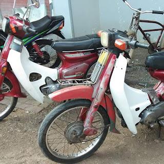 Jual Motor Jadoel Honda 800 Warisan Mbah Uyut