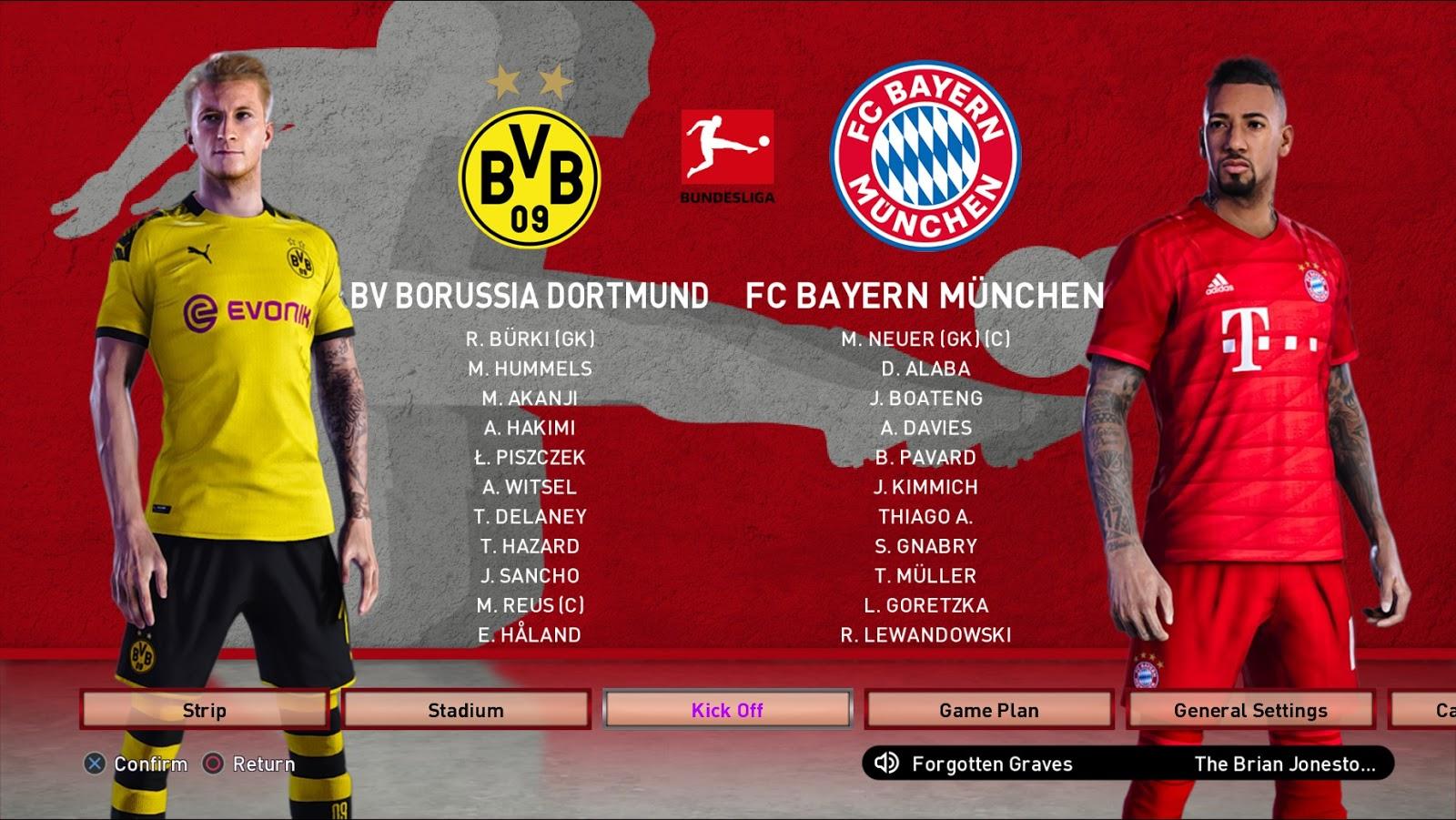 Tohle bude Souboj ! Borussia Dortmund proti FC Bayern Munich. Velice se nám líbí, že každá liga má své vlastní pozadí.