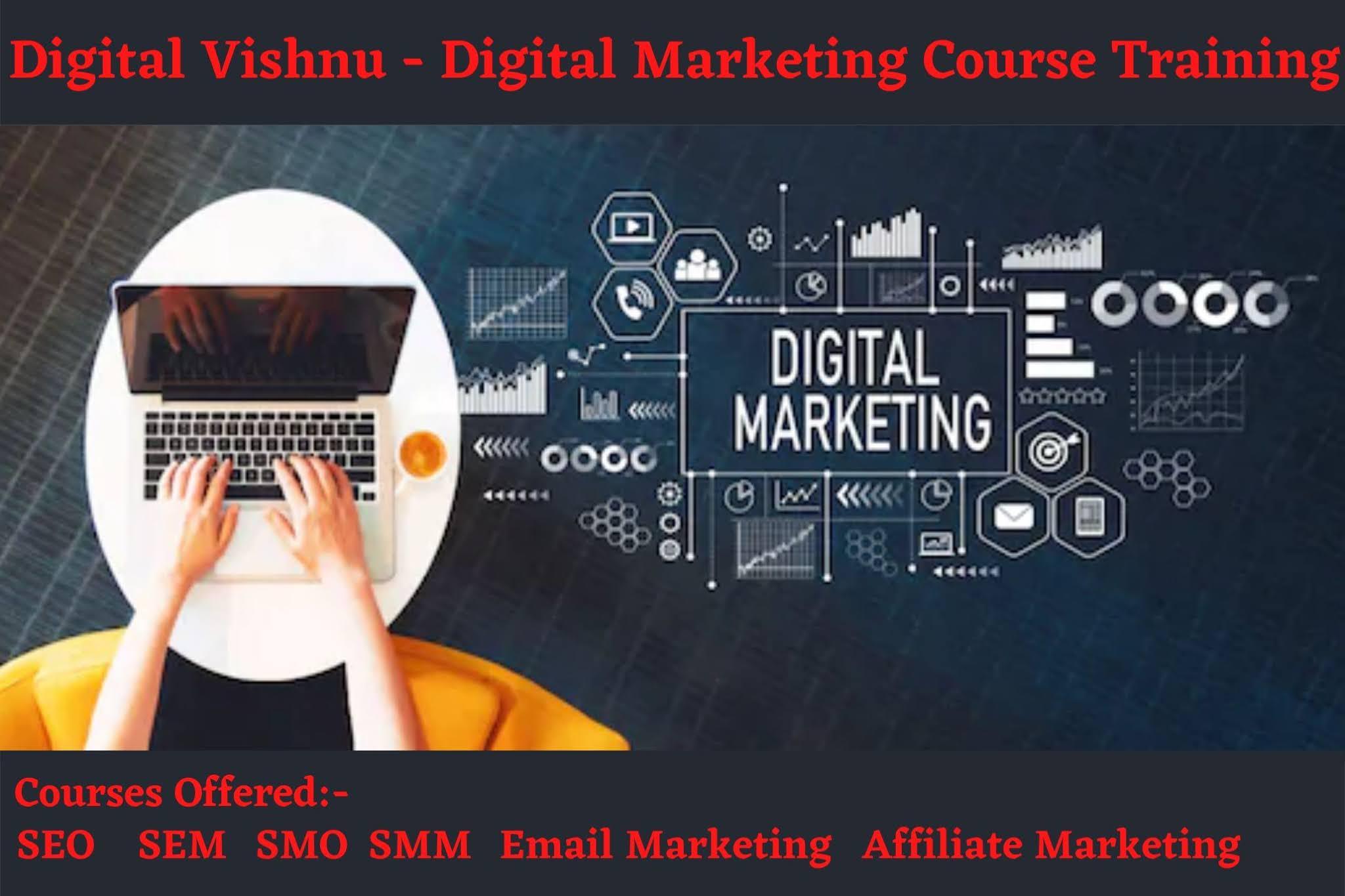 Digital Vishnu - Digital Marketing Course Services Offered