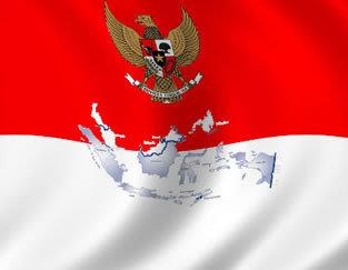 bendera peta Indonesia