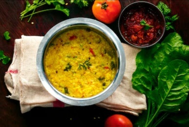 shyama chaler khichuri