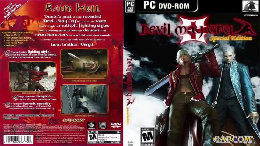 Devil may cry 3 dante's awakening (pcsx2 v1. 2. 1) ps2 emulator on.