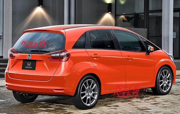 Burlappcar More 2020 Honda Fit Illustrations