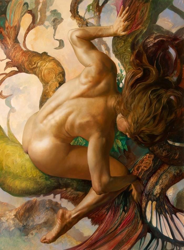 Американский художник. Julie Bell 3