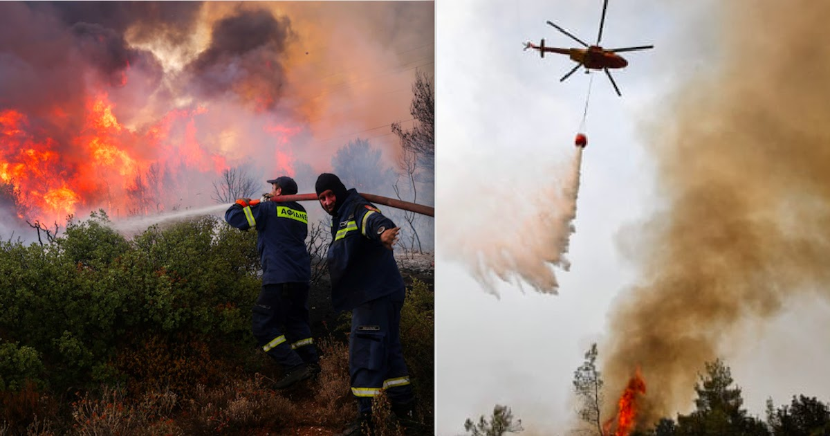 At Least Eight Dead As Wildfires Rage Across Southern Europe