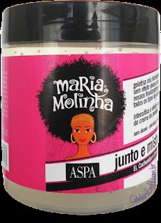 Ingredientes da composição da Gelatina Maria Molinha da Aspa - Resenha