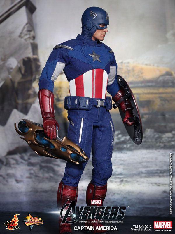TOUKAI MODEL&TOY STORE 東海模型玩具情報網: The Avengers:Captain America Limited Edition Collectible Figurine 復仇者聯盟 美國隊長 ...