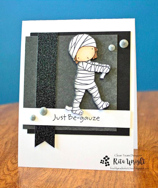 Pure Innocence Mummy stamp set - Rita Wright #mftstamps