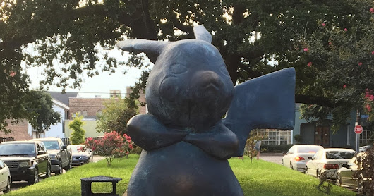 The #Pokemonument Seen 'Round the World